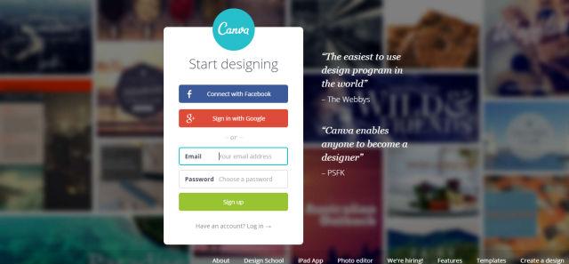 令人驚訝的簡單的圖形設計軟件 - Canva