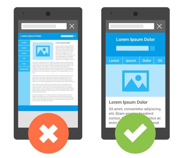 擁有響應式功能的網站能提高手機用戶轉化率